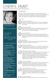Visual Resume Examples Marketing Manager Resume Samples U2013 Visualcv Resume Samples