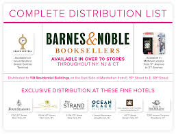 Barnes And Noble Route 3 Nj Newsstand Locations Bella New York Magazine