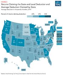 States With No Income Tax Map by How Does The Deduction For State And Local Taxes Work Tax