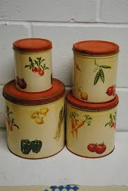 Canister Sets For Kitchen Ceramic 560 Best Vintage Kitchen Canister Sets Images On Pinterest