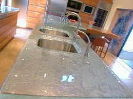 Glass Kitchen Countertops Glass Kitchen Countertops Video Hgtv
