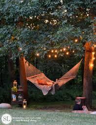 backyard hammock refreshing the outdoors for summer
