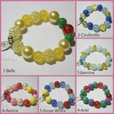 Personalized Kids Jewelry Flower Charm Bracelet Pink U0026 Green Personalized Name Bracelet