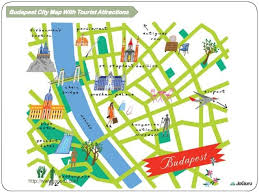 best tourist map of top 4 best tourist attractions in budapest