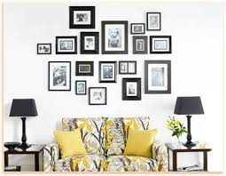 wall decorating with picture arrangement wall decoration