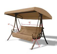 Hampton Bay Patio Chairs by Home Depot Hampton Bay Charm 3 Seat S05294 Sling
