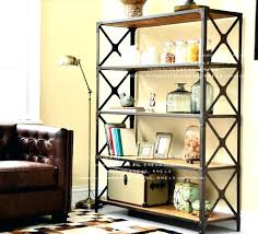 wood and iron bookcase wood and iron bookcase country wrought iron