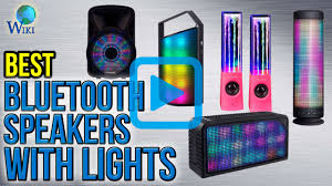 Party Speakers With Lights Top 7 Bluetooth Speakers With Lights Of 2017 Review