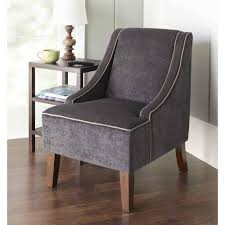 furniture gray armless chair with legs and ikea side