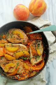 peach kitchen ideas best 25 peach pork chops ideas on pinterest honey glazed pork