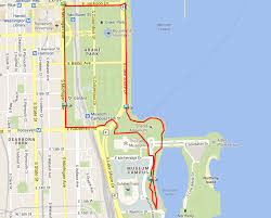 grant park chicago map best runs in chicago ekneewalker