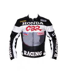 cbr motorcycle cbr racing grey black motorcycle leather jacket