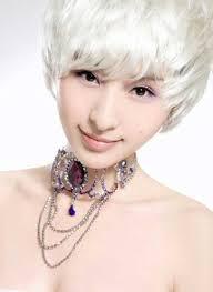 haircuts for white hair 2013 cute short white hairstyles for korean girls new hairstyles