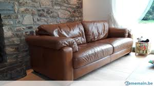 canapé 1 place canapé 3 places et fauteuil 1 place de marque burov a vendre