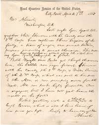 abraham lincoln u0027s last letter to his wife 1865 the gilder