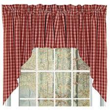 Cheap Curtains And Valances Homespun Country Curtains