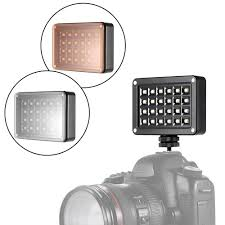 andoer t9512 mini led video light lamp panel 95 5500k color