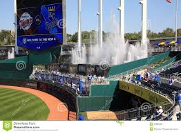 Kauffman Stadium Map Kauffman Stadium Kansas City Royals Stock Photos Images