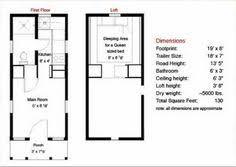 Tiny Home Floor Plans Free 8x16 Tiny House Floor Plan Sample From The Book Tiny House Floor