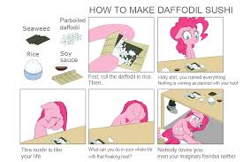 Hot To Make A Meme - how to make daffodil sushi by wookylee how to make sushi know
