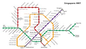 Circle Map About Singapore City Mrt Tourism Map And Holidays Detail