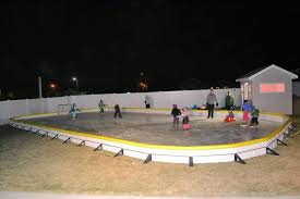 Backyard Rink Liner by Nicerink Backyard Ice Rink Kit Makes Your Yard The Perfect Place
