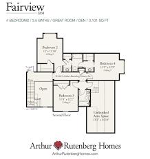 Arthur Rutenberg Homes Floor Plans Fairview Home Plan Custom Home Builders In Greenville