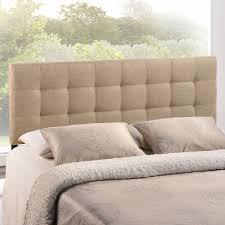 modern headboards bedroom gray wingback headboard with decorative throw pillows and