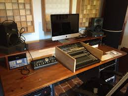 Recording Studio Desks Diy Building A Homerecording Studio Desk Youtube