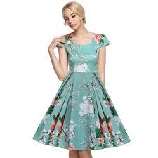 aliexpress com buy acevog 2017 vestidos 1950 u0027s vintage style