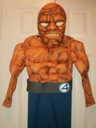 Fantastic 4 Halloween Costumes Fantastic Cosplayer Vincent Gonzalez