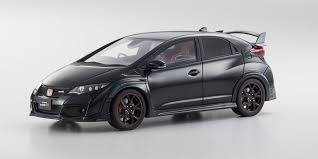 kyosho die cast model samurai 1 18scale honda civic type r black