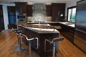 breakfast bar kitchen island curved breakfast bar kitchen contemporary with recessed lighting