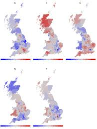 Americas Mood Map by Regional Personality Differences In Great Britain