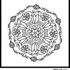 34 coloring pages images mandalas color