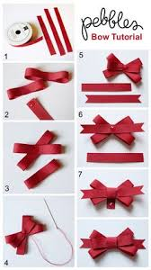different types of hair bows bows i always forget how to make these so i m pinning