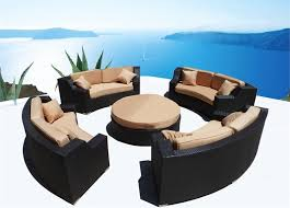 PATIO FURNITURE  ORION BAR SET - Round outdoor sofa