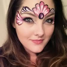 simple face painting design face painting pinterest face