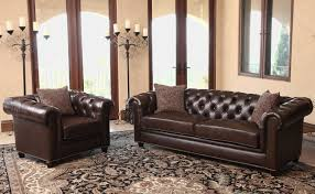 Used Leather Chesterfield Sofa by Darby Home Co Lizzie Leather Chesterfield Sofa U0026 Reviews Wayfair