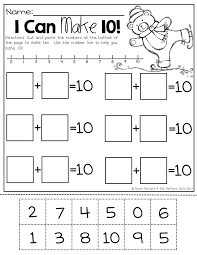 i can make 10 decomposing numbers and different ways to make 10