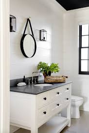 White Bathroom Vanity Ideas Best 25 Farmhouse Vanity Ideas On Pinterest Bathroom Within Sink