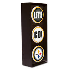 amazon com nfl pittsburgh steelers let s go light sports amazon com nfl pittsburgh steelers let s go light sports outdoors