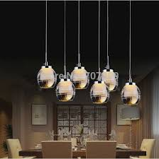 led dining room lighting led dining room light fixtures modern crystal chandelier home