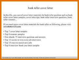 9 application letter fo bank teller texas tech rehab counseling