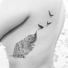 30 cutest feather tattoos to dazzle you feather tattoo design