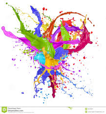 colors splash colorful paint splash stock images image 30940294
