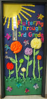 fun spring door bulletin boards doors pinterest spring