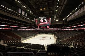 world u0027s largest indoor scoreboard unveiled at devils u0027 prudential
