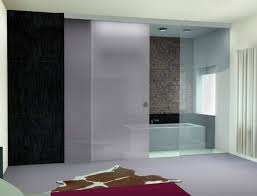 bathroom spectacular chrome frame sliding glass shower doors