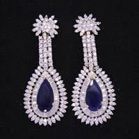 diamond earrings india american diamond earrings manufacturers suppliers exporters
